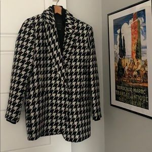 Theory   houndstooth coat